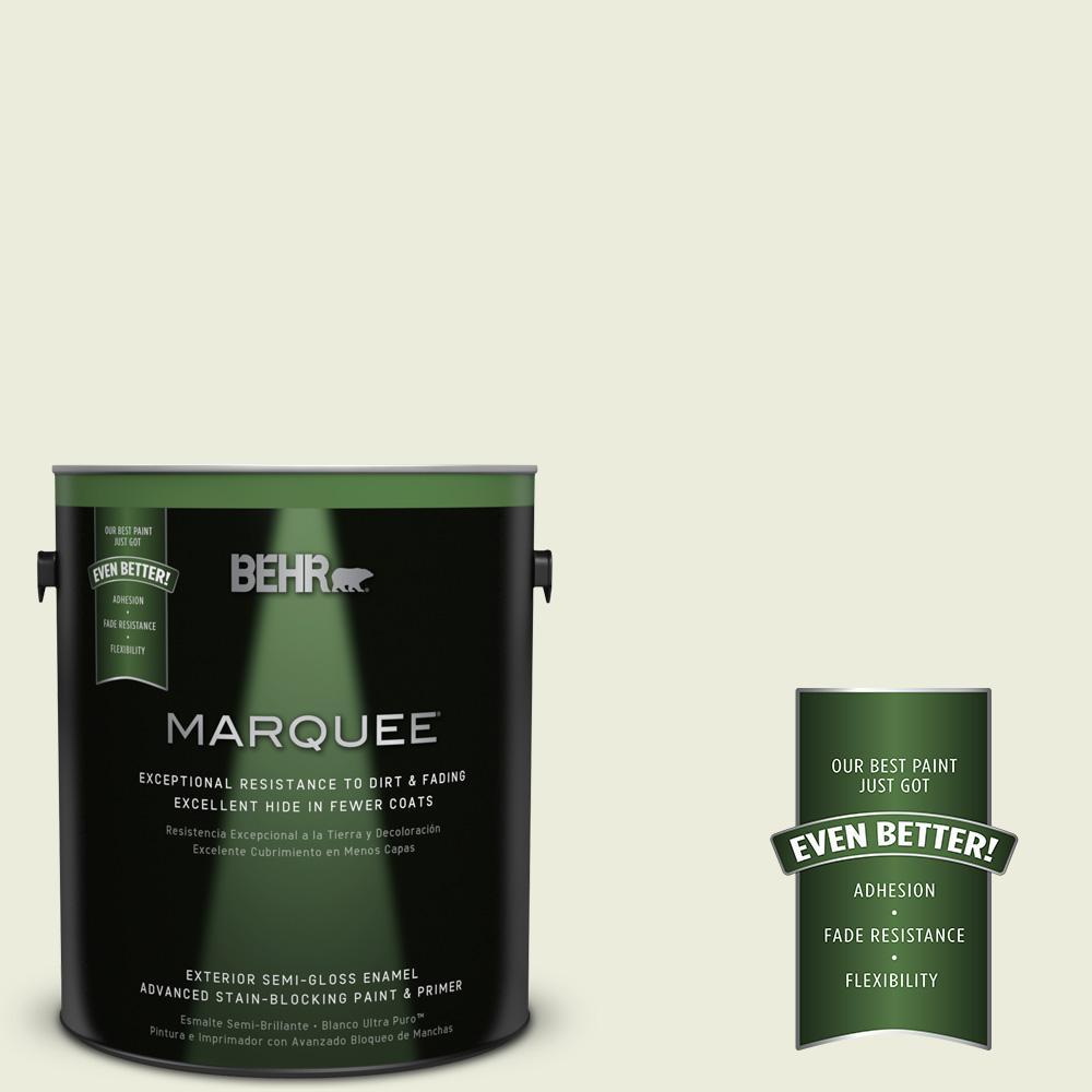 1-gal. #M350-1 Grass Root Semi-Gloss Enamel Exterior Paint