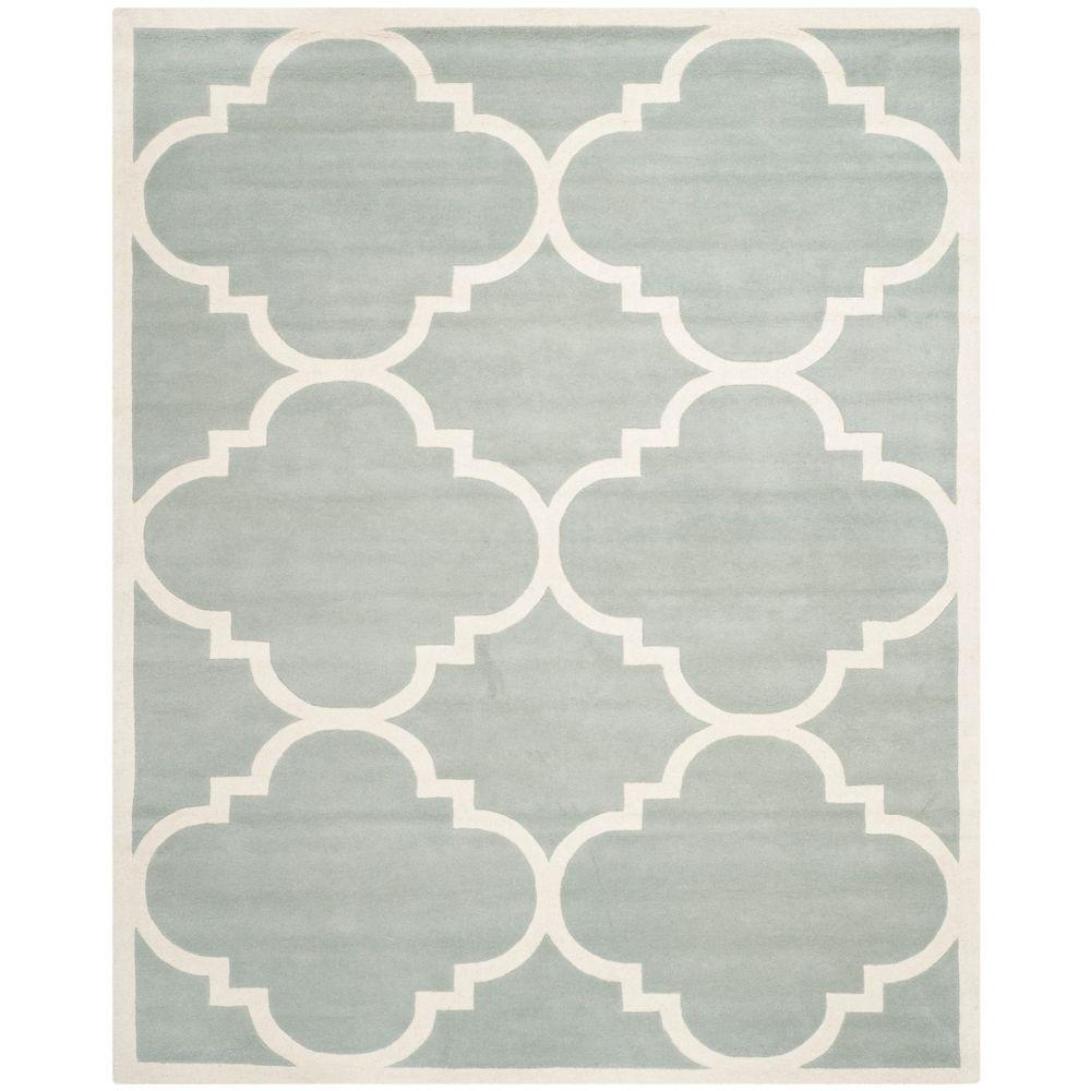 Safavieh Chatham Grey/Ivory 11 ft. x 15 ft. Area Rug