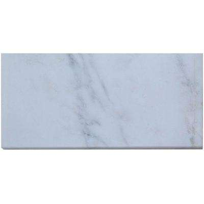 Oriental 6 in. x 12 in. x 8 mm Marble Mosaic Floor and Wall Tile (10 pieces 5 sq.ft./Box)