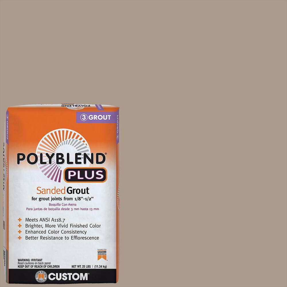 Polyblend Plus #183 Chateau 25 lb. Sanded Grout