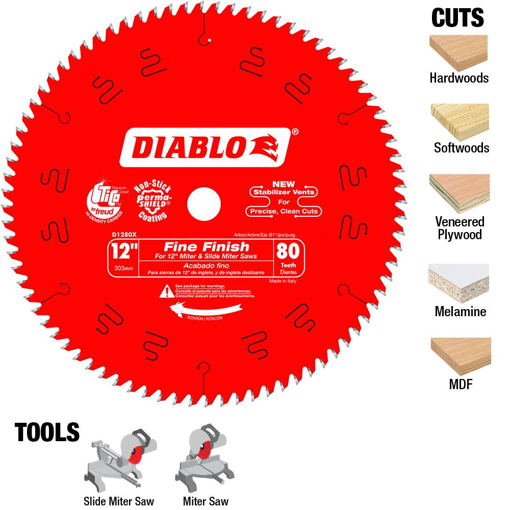 Diablo 12 in x 80 teeth finishing saw blade d1280x the home depot diablo 12 in x 80 teeth finishing saw blade keyboard keysfo Image collections