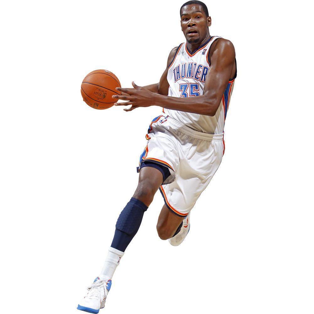 Fathead 32 in. x 17 in. Kevin Durant Wall Decal