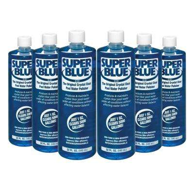1 Qt. Super Blue Water Clarifier (6-Pack)