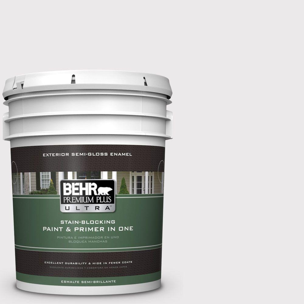 BEHR Premium Plus Ultra 5-gal. #670E-1 Timeless Day Semi-Gloss Enamel Exterior Paint