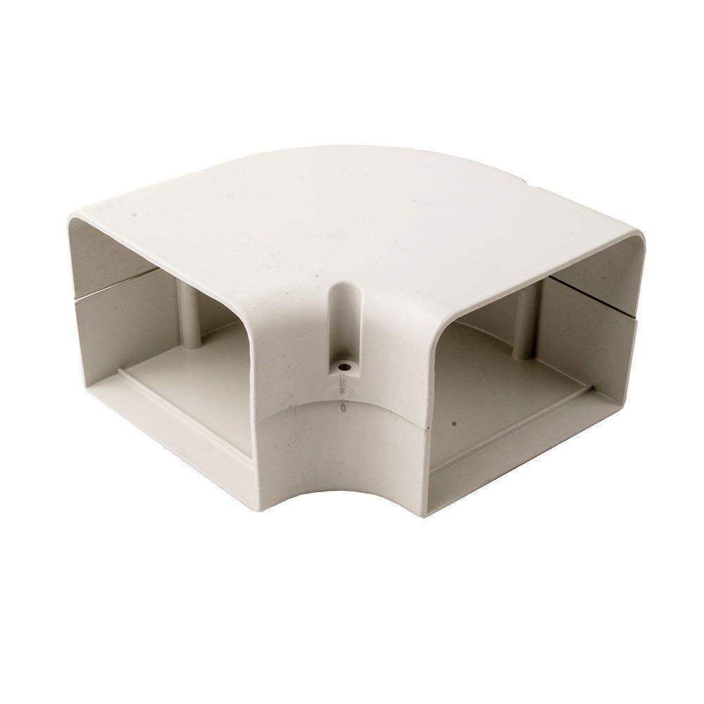 SpeediChannel 4 in. 90 Degree Flat Bend for Ductless Mini-Split Line-Set