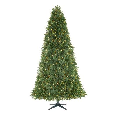 7.5 ft. Chelsey Balsam Fir LED Pre-Lit Artificial Christmas Tree with 1050 SureBright Warm White Lights