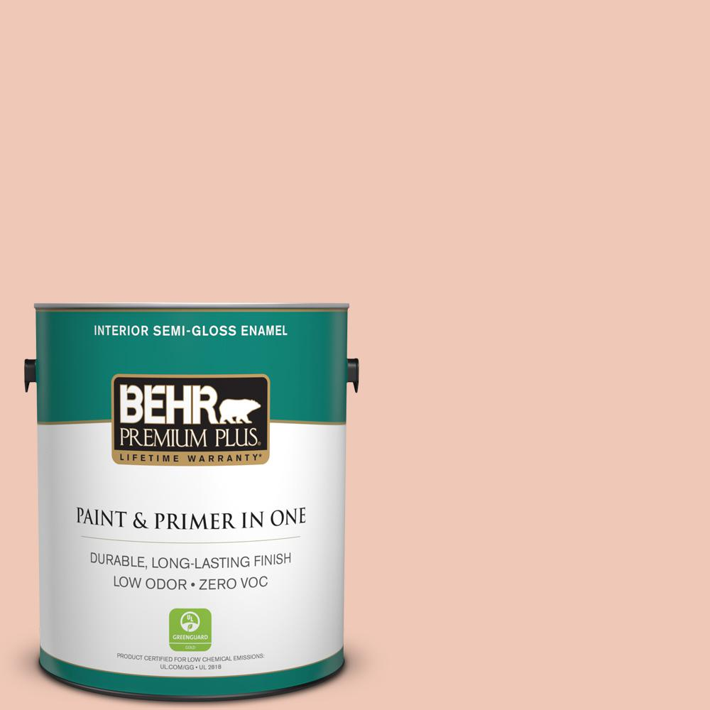 BEHR Premium Plus 1-gal. #M190-2 Everblooming Semi-Gloss Enamel Interior Paint