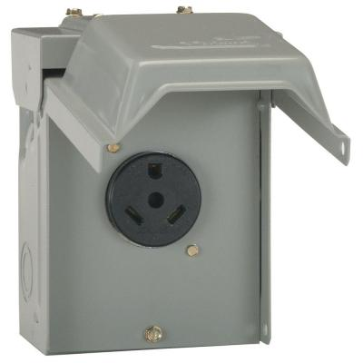 30 Amp Temporary RV Power Outlet