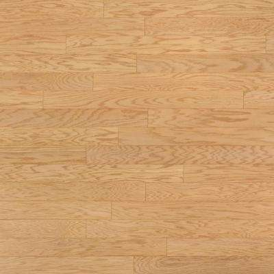 Take Home Sample - Oak Ivory Engineered Click Hardwood Flooring - 5 in. x 7 in.