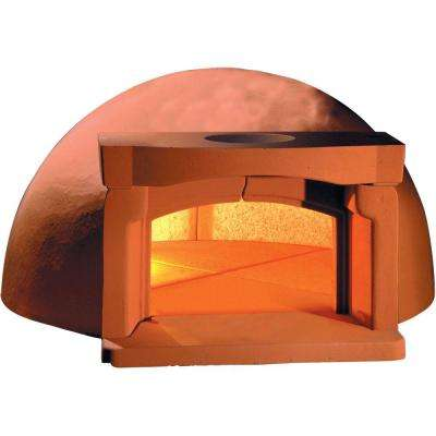 Traditional 110 with Vent and Support - 10 Piece with 43.3 in. Dia Outdoor Wood Burning Oven Refractory Built-In