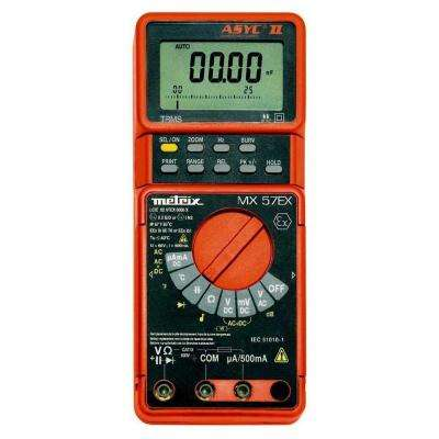 True RMS Intrinsically Safe Digital Multimeter