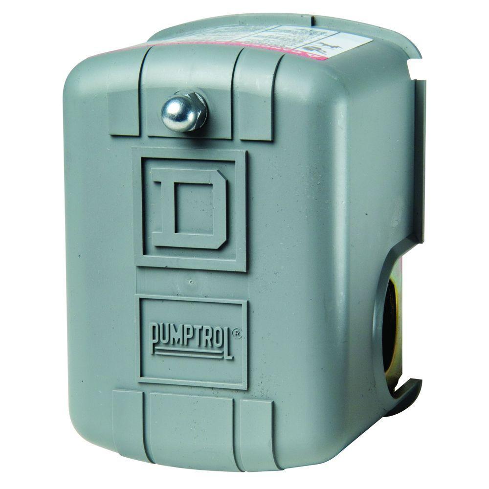 Square D 20-40 psi Pumptrol Pressure Switch