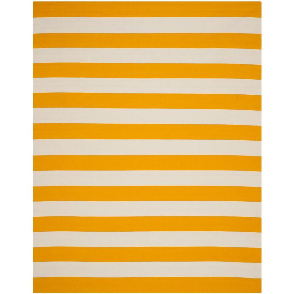 Montauk Yellow/Ivory 8 ft. x 10 ft. Area Rug