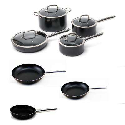 EarthChef 11-Piece Aluminum Cookware Set with Non-Stick Coating