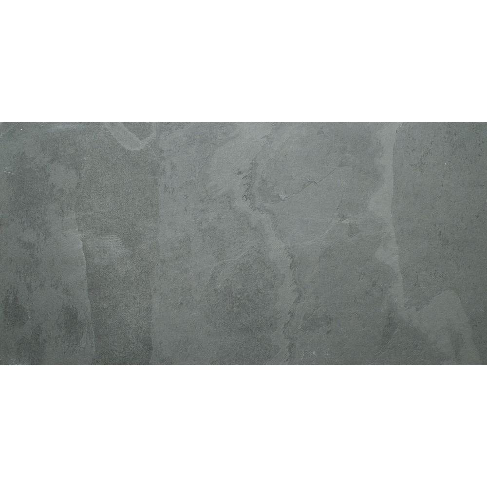 Hampshire 18 in. x 36 in. Gauged Slate Floor and Wall