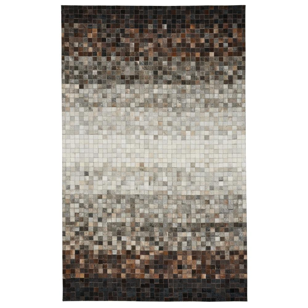 Capel Butte Cubes Beige 8 ft. x 10 ft. Area Rug Capel Butte Cubes Beige 8 ft. x 10 ft. Area Rug