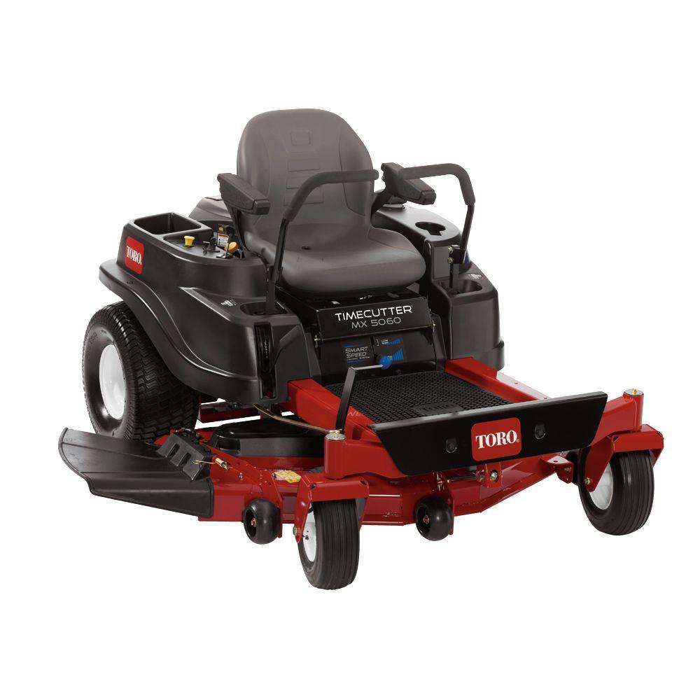 Toro TimeCutter Mx5060 50 in. 23 HP Kawasaki V-Twin Zero-Turn Riding Mower with Smart Speed