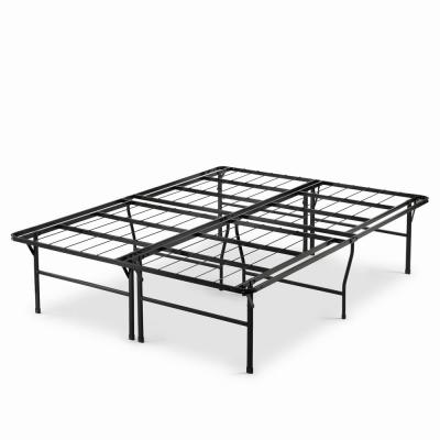 Casey Premium 18 in. Twin XL Metal Smartbase Bed Frame with Easy Assembly