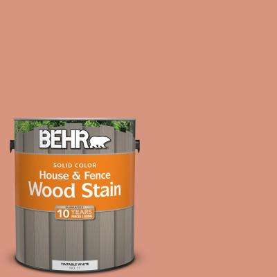 1 gal. #BIC-17 Tropical Blooms Solid Color House and Fence Exterior Wood Stain
