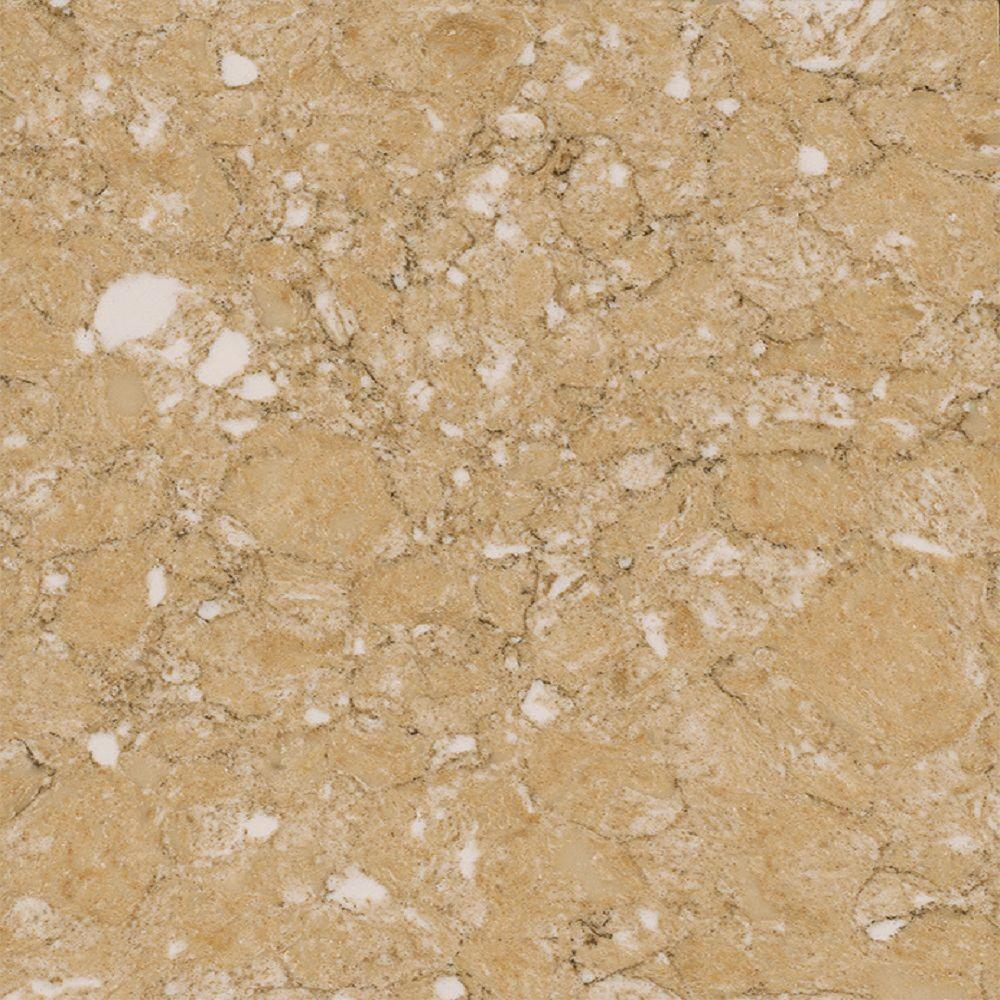 LG Hausys Viatera 3 In. X 3 In. Quartz Countertop Sample In Sierra