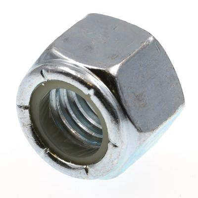 1/2 in.-13 Grade 2 Zinc Plated Steel Nylon Insert Lock Nuts (25-Pack)