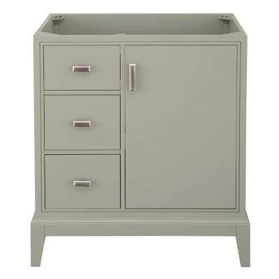 Shaelyn 30 in. W x 21.75 in. D Vanity Cabinet Only in Sage Green