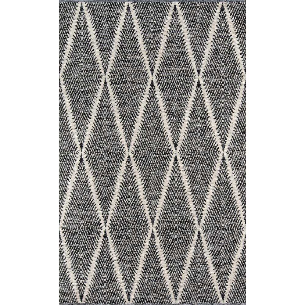 Beacon Black 2 ft. x 3 ft. Indoor/Outdoor Accent Rug