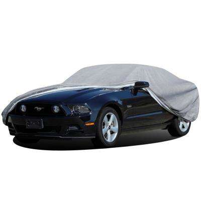 Superior Auto Cover 222 in. L x 55.8 in. W x 53.16 in. H Ready-Fit/Semi Custom Fits