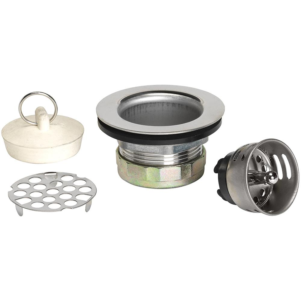 3-in-1 Stainless Steel Bar Sink Strainer