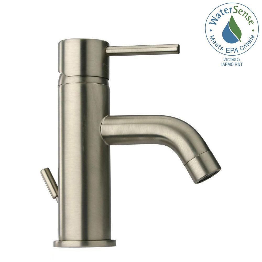 LaToscana Elba Single Hole 1-Handle Low-Arc Bathroom Faucet in ...