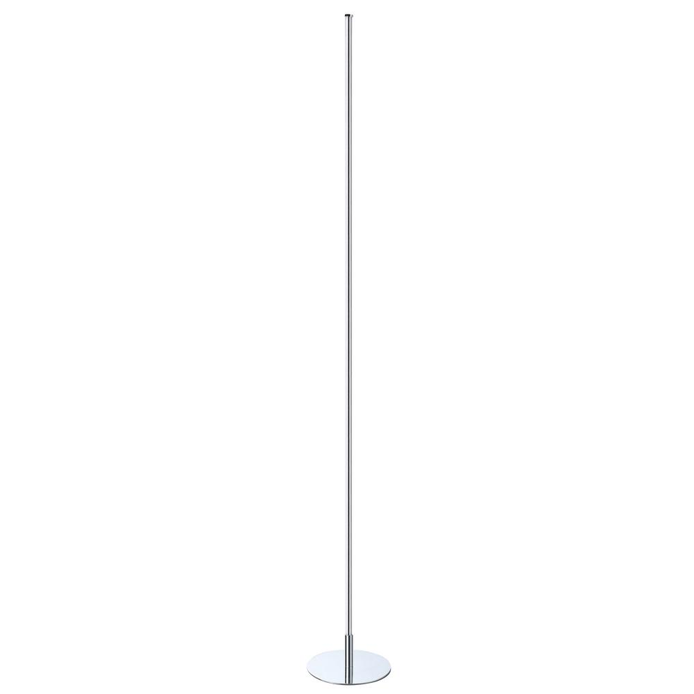 JONATHAN Y Iris 59.5 in. Chrome Integrated LED Floor Lamp-JYL7007A ...