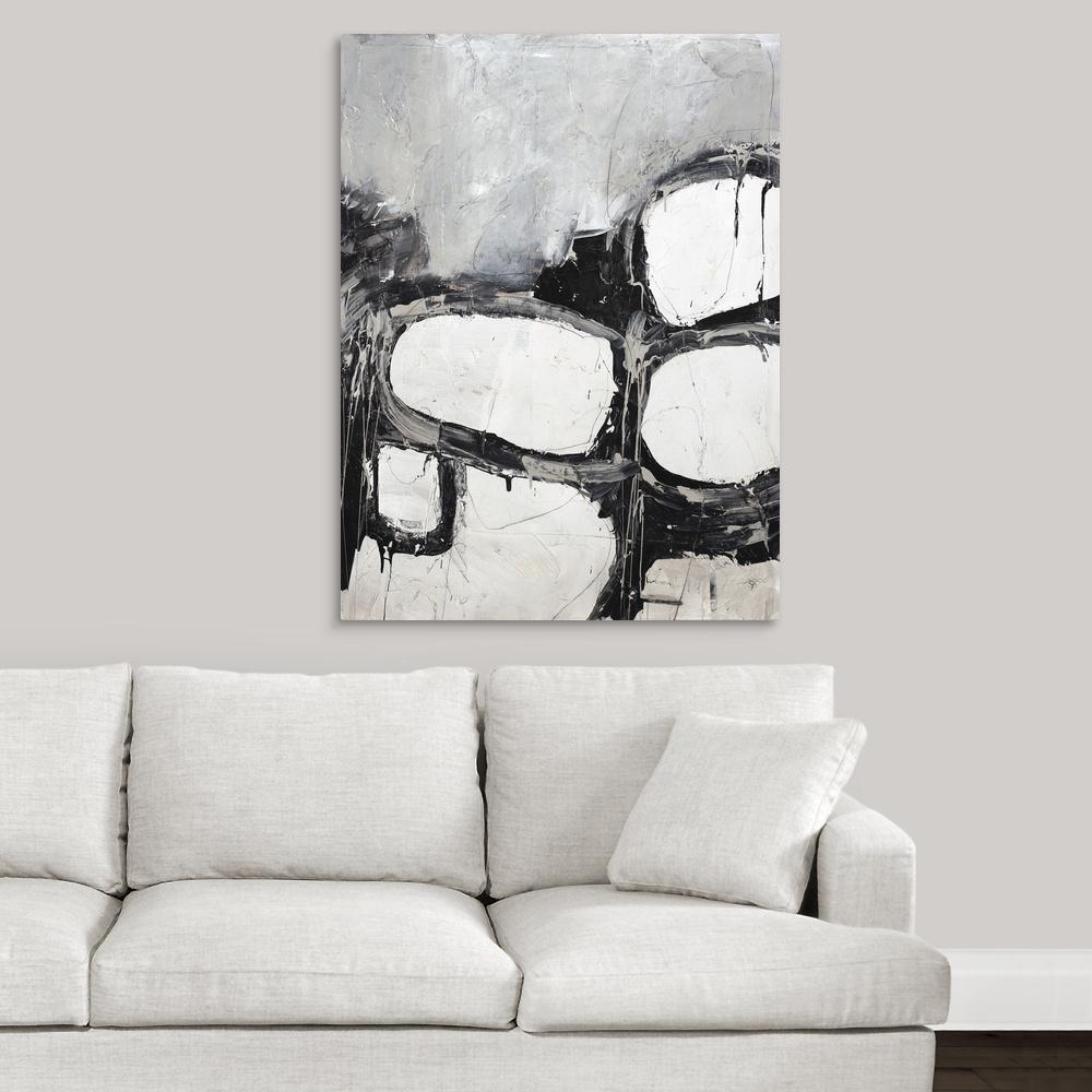 """""""Hidden in Gray II"""" by Joshua Schicker Canvas Wall Art"""
