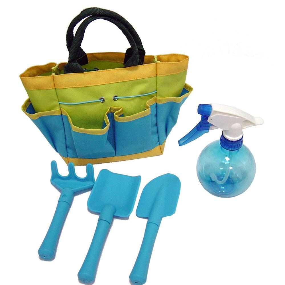 Grow With Me Kids Gardening Set With Sprayer Rp Tkgb The Home Depot