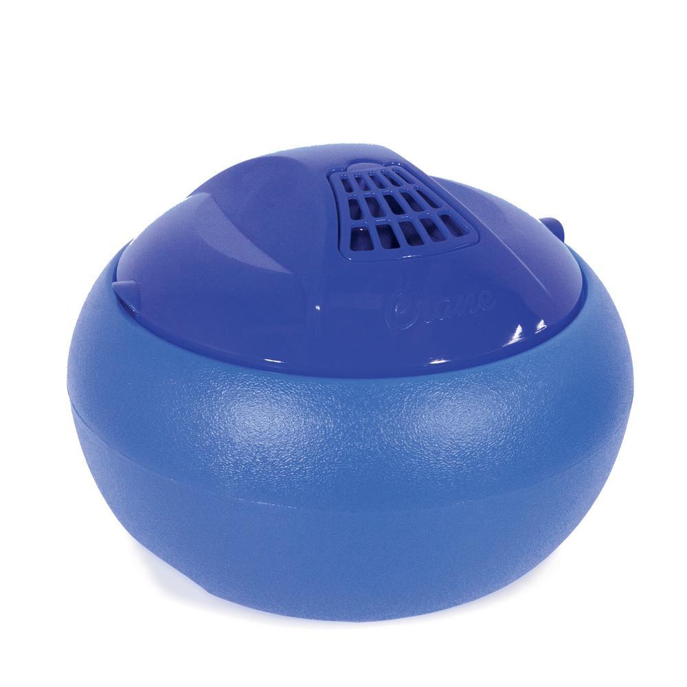 1 Gal. Warm Steam Vaporizer Tabletop Humidifier - Blue