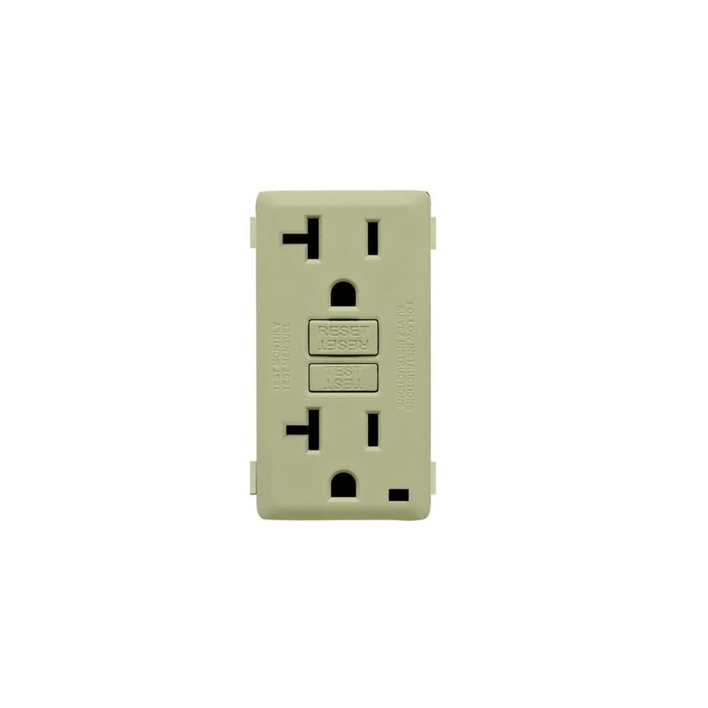 Leviton Renu 20-Amp GFCI Prairie Sage Color Change Kit-DISCONTINUED