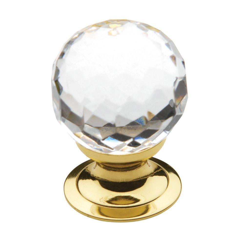Polished Brass Cabinet Knob