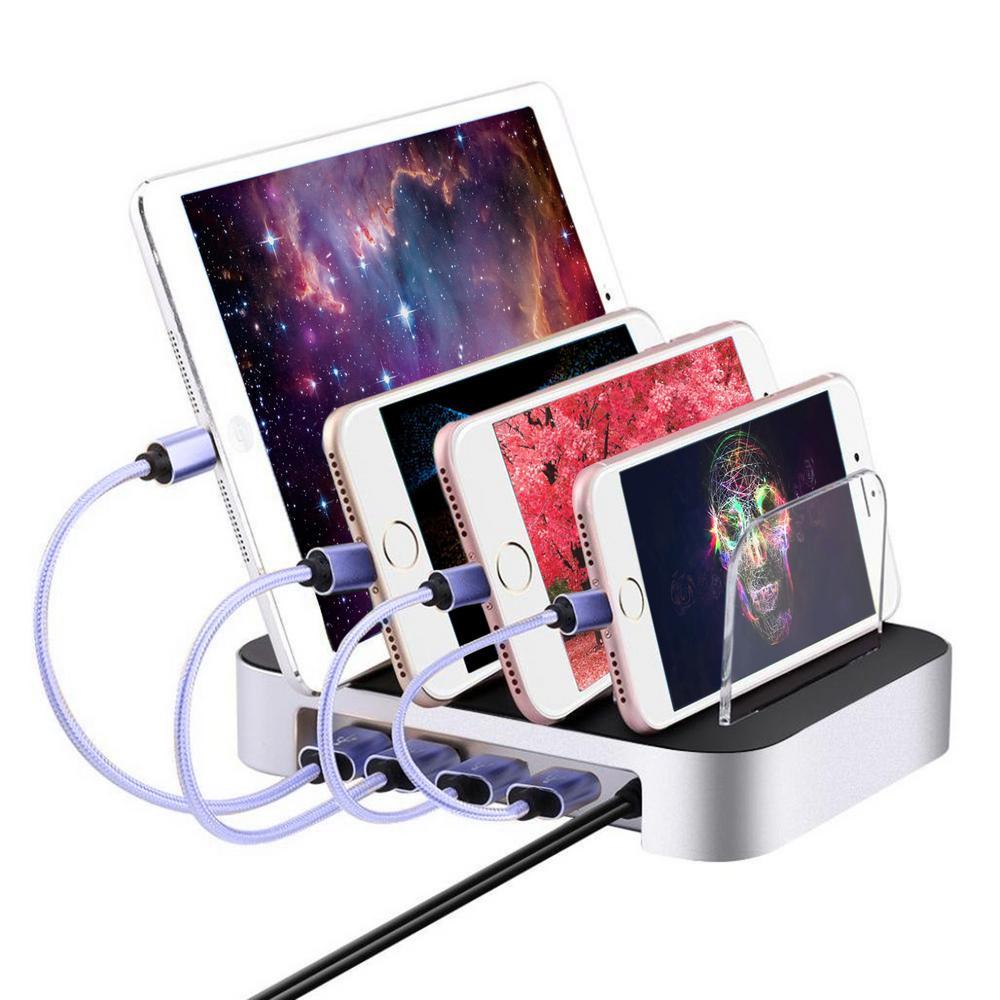 6.8 Amp 6-Port USB Charging Station