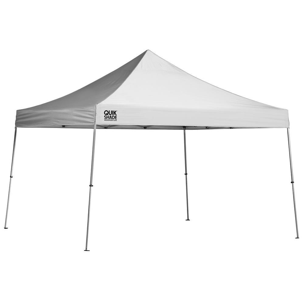 WE144 12 ft. x 12 ft. White Straight Leg Canopy