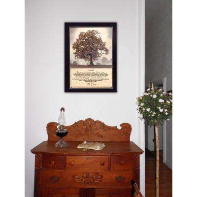 """18 in. x 22 in. """"Living Life"""" by Bonnie Mohr Printed Framed Wall Art"""