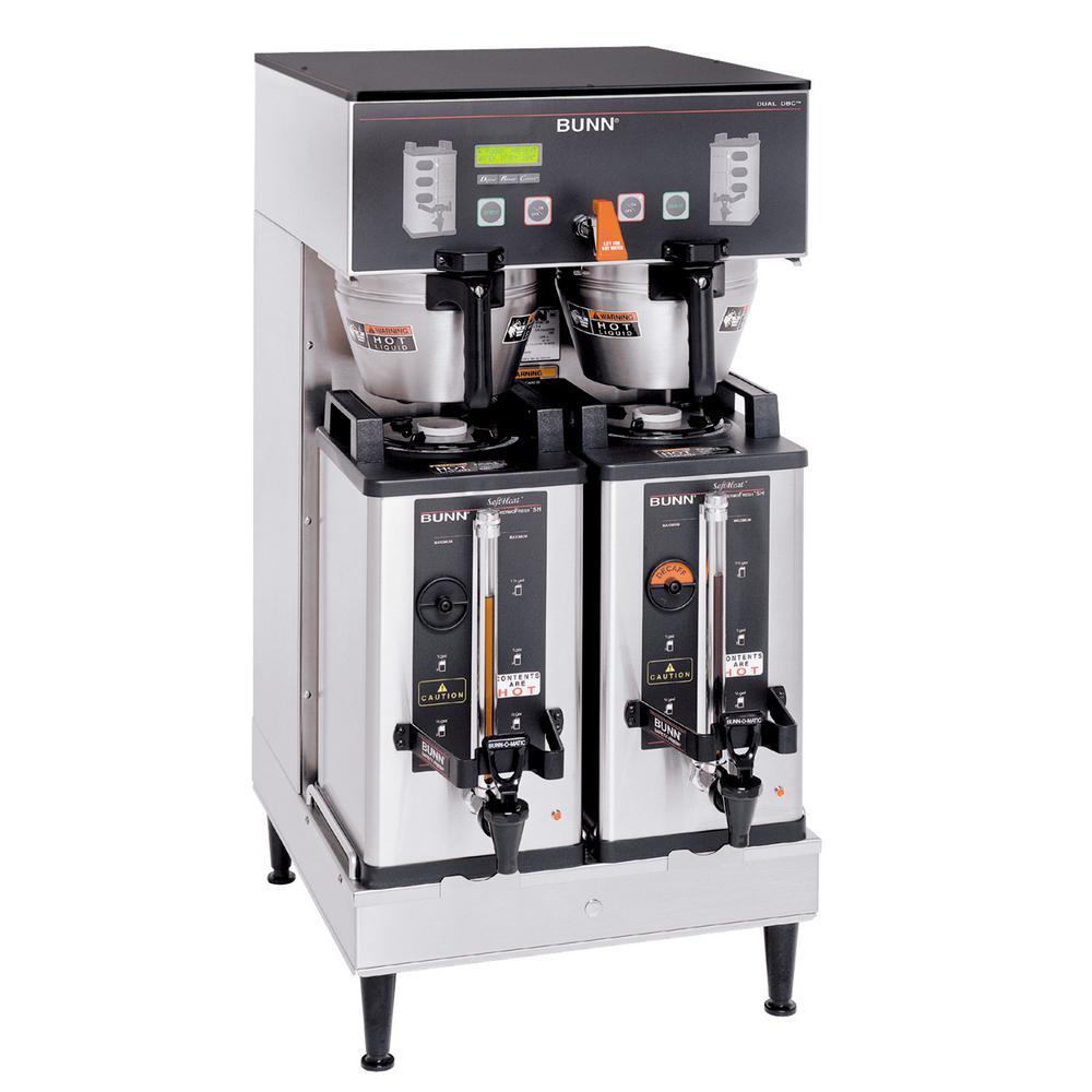 Bunn Dual Soft Heat Brewwise DBC Commercial Coffeemaker