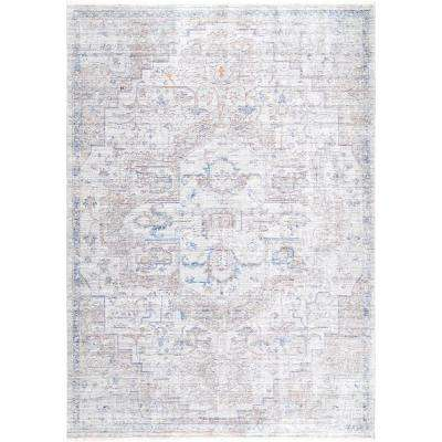 Vintage Anoushka Beige 5 ft. 3 in. x 7 ft. 7 in. Area Rug