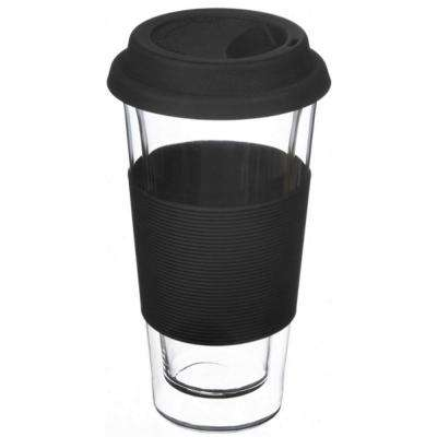 Glassen XL 14 oz. Double-walled Glass Travel Mug