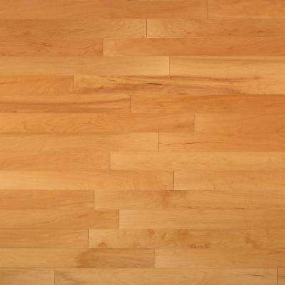 Take Home Sample - Vintage Hickory Natural Engineered Click Hardwood Flooring - 5 in. x 7 in.