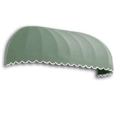 20 ft. Chicago Window/Entry Awning (31 in. H x 24 in. D) in Sage