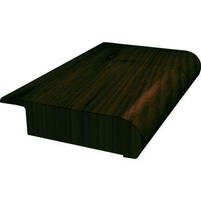Chocolate Saddle 13/16 In. Thick X 2 In. Wide X 78 In