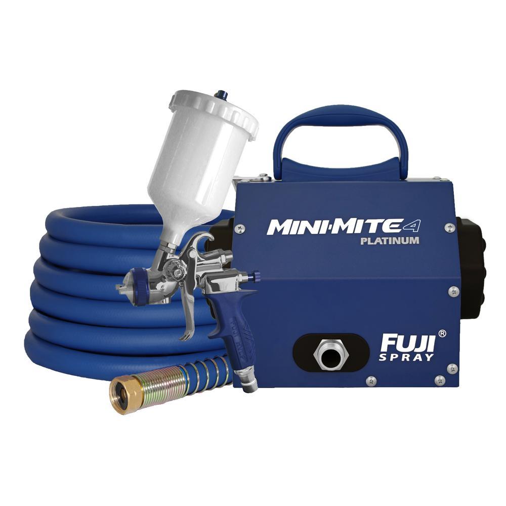 Fuji Spray Mini-Mite 4 Platinum - T75G Gravity Hvlp Spray...