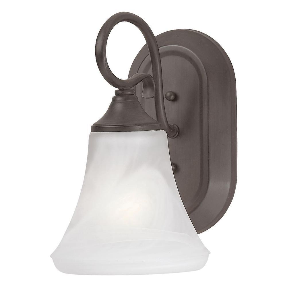 Elipse 1-Light Painted Bronze Sconce