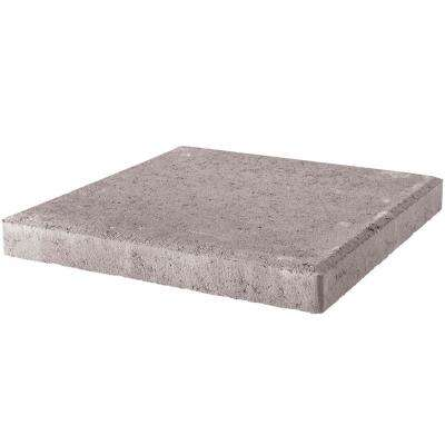 18 in. x 18 in. x 1.77 in. Pewter Square Concrete Step Stone (56-Pieces/129 sq. ft./Pallet)