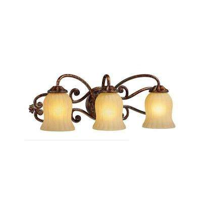 Freemont Collection 3-Light Antique Bronze Wall Sconce
