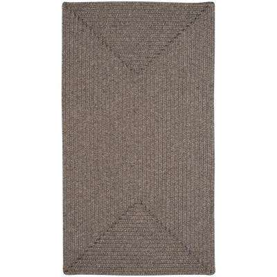 Candor Concentric Chestnut 11 ft. x 14 ft. Area Rug